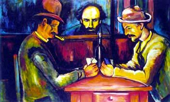 Paul Cezanne with Card Players